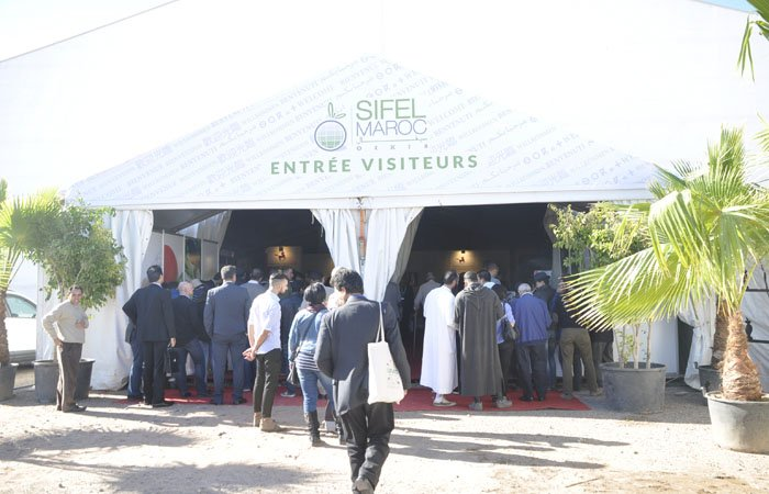 Réceptif Officiel du salon Sifel Agadir